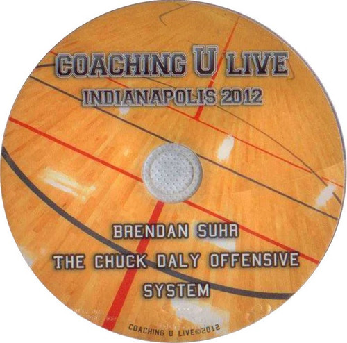 The Chuck Daly Offensive System by Brendan Suhr Instructional Basketball Coaching Video