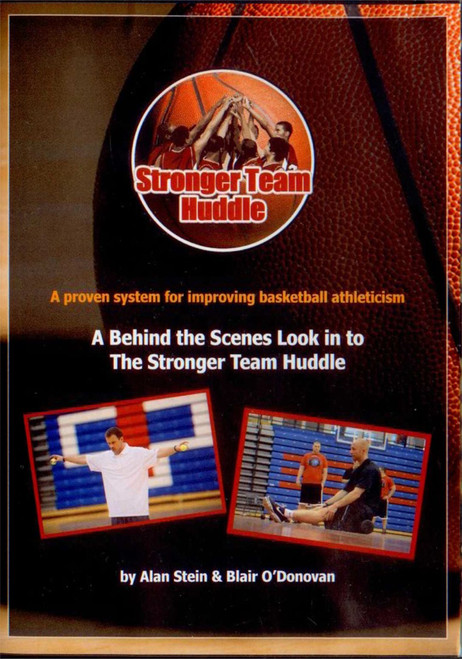 Stronger Team Huddle: Behind The Scenes Look by Alan Stein Instructional Basketball Coaching Video