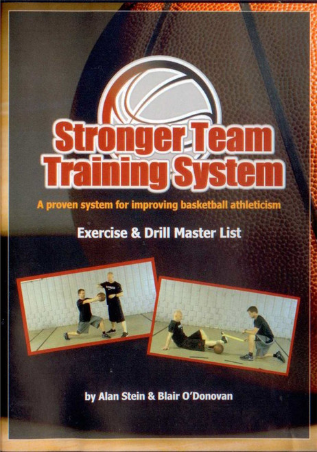 Stronger Team Training System: Exercise & Drill Master List by Alan Stein Instructional Basketball Coaching Video