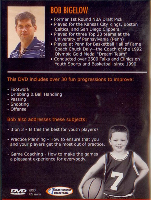 (Rental)-Bob Bigelow's Coaching Youth Basketball The Right Way