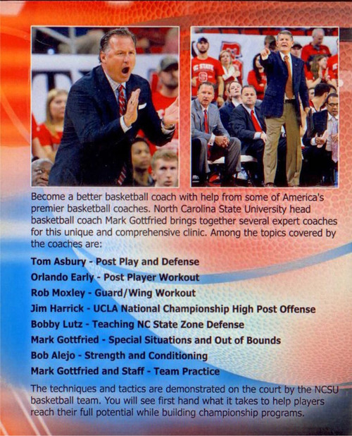 (Rental)-Basketball Coaches Clinic Mark Gottfried