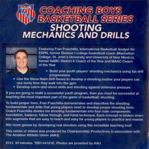 (Rental)-Aau Boys Basketball Series: Shooting Mechanics And Drills