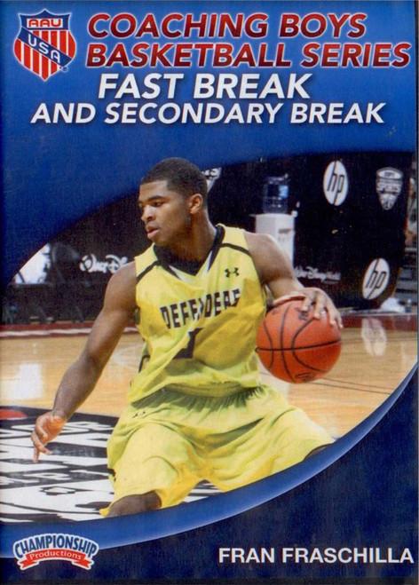 Aau Boys Basketball Series: Fast Break & Secondary Break (fraschilla) by Fran Fraschilla Instructional Basketball Coaching Video