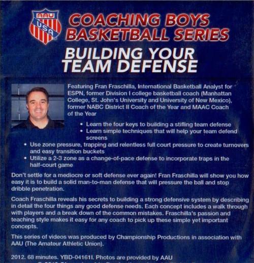 (Rental)-Aau Boys Basketball Series: Building Your Team Defense