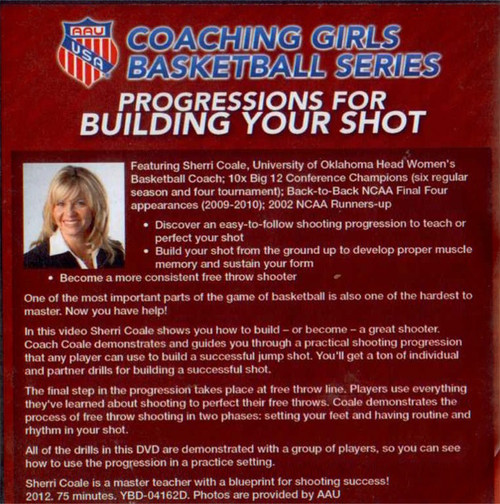(Rental)-Aau Girls: Progressions For Building Your Shot