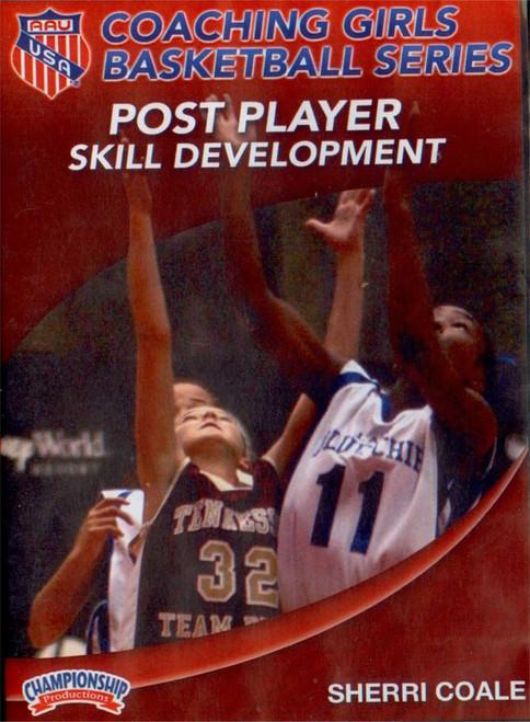 Aau Girls: Post Player Skill Development by Sherri Coale Instructional Basketball Coaching Video