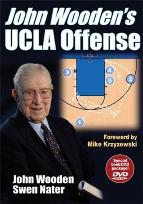 John Wooden's UCLA Offense DVD Book Combo.