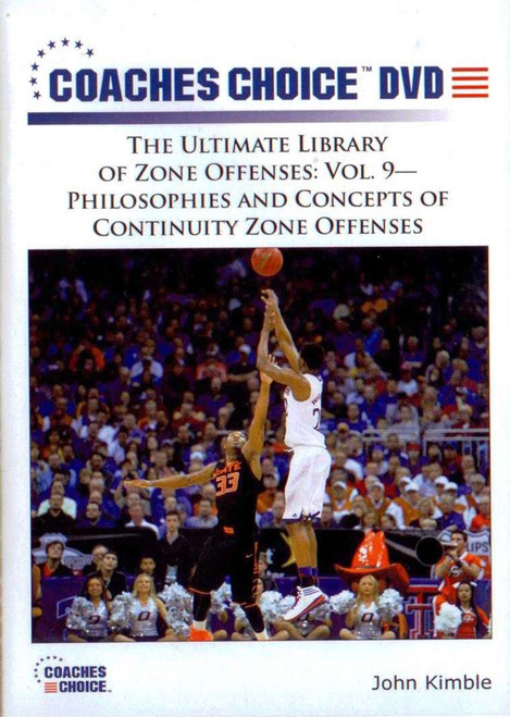 Philosophies & Concepts Of Continuity Zone Offenses by John Kimble Instructional Basketball Coaching Video