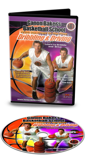 Ganon Baker Basketball School Dribbling & Driving Video DVD