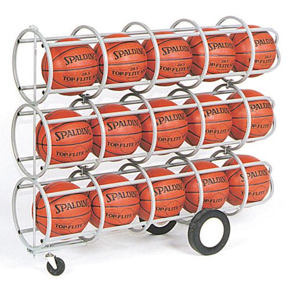 Lockable Basketball Storage Rack