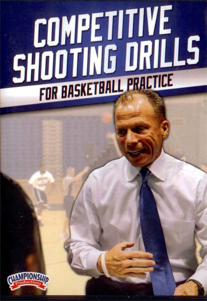 Competitive Shooting Drills For Basketball Practice by Matt Driscoll Instructional Basketball Coaching Video