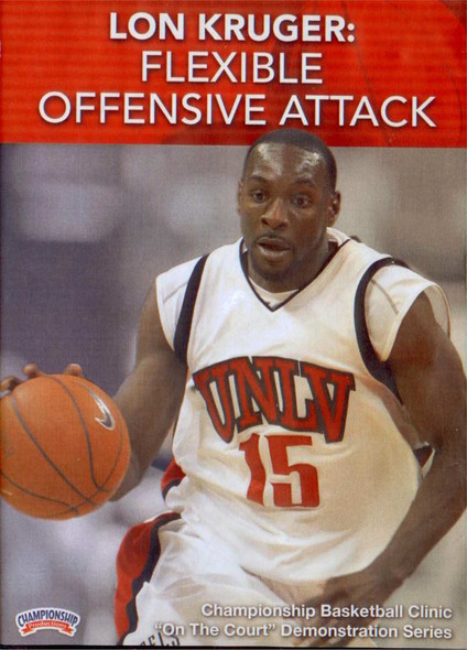 Flexible Offensive Attack by Lon Kruger Instructional Basketball Coaching Video
