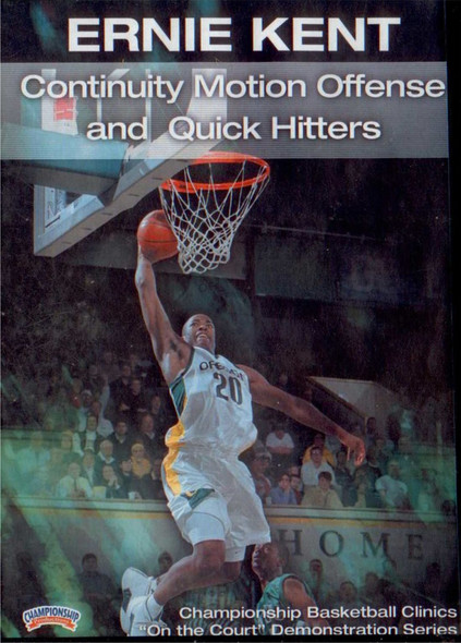 Continuity Motion Offense And Quick Hitters by Ernie Kent Instructional Basketball Coaching Video