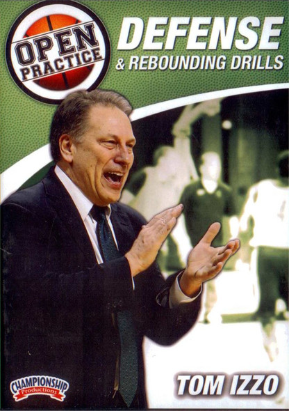 Defense & Rebounding Drills by Tom Izzo Instructional Basketball Coaching Video