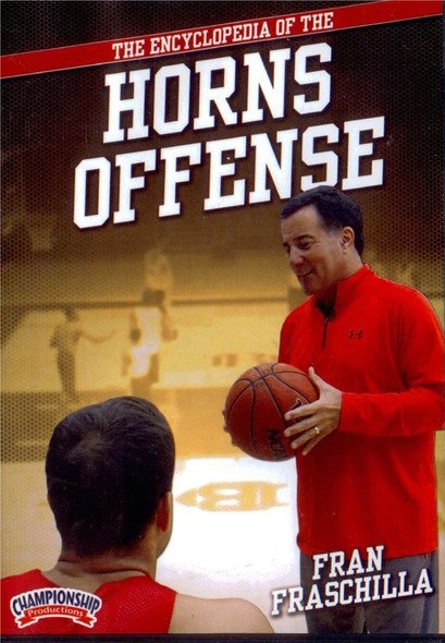 Encyclopedia Of The Horns Offense by Fran Fraschilla Instructional Basketball Coaching Video
