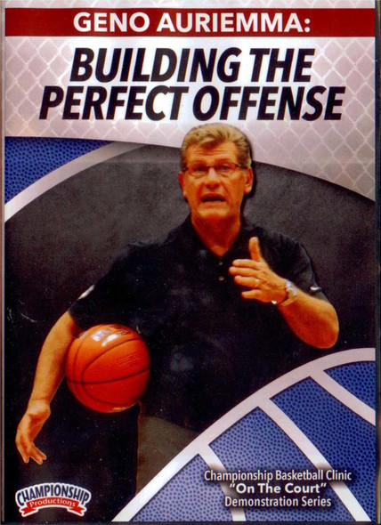 Building The Perfect Offense by Geno Auriemma Instructional Basketball Coaching Video