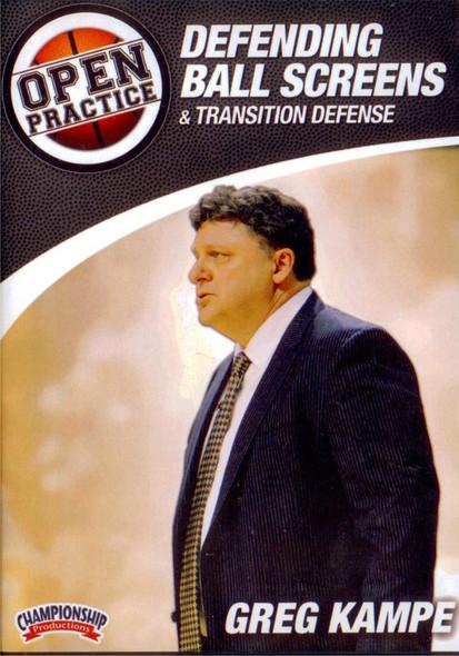 Defending Ball Screens by Greg Kampe Instructional Basketball Coaching Video