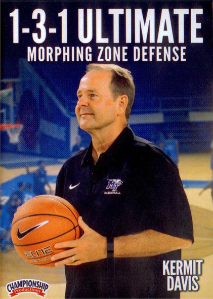 1-3-1 Ultimate Morphing Zone Defense by Kermit Davis Instructional Basketball Coaching Video