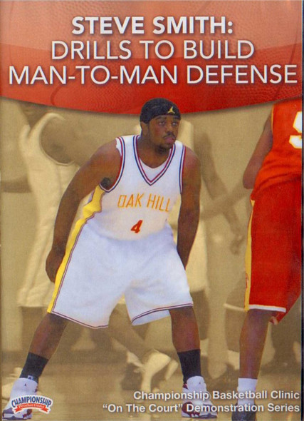 Drills To Build Man To Man Defense by Stephen Smith Instructional Basketball Coaching Video