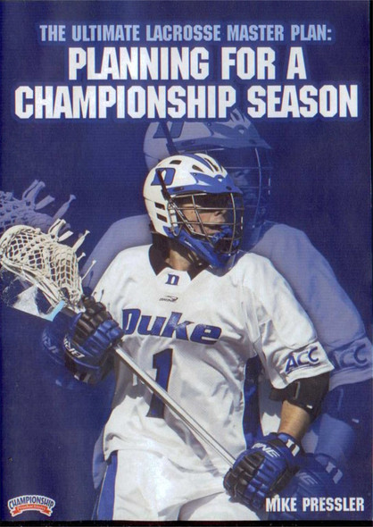 Ultimate Lacrosse Master Plan: Planning Championship Season by Mike Pressler Instructional Basketball Coaching Video