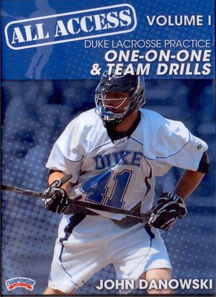 All Access Vol. 1 Duke Lacrosse Practice by John Danowski Instructional Basketball Coaching Video