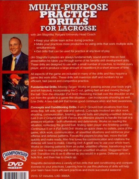 (Rental)-Multi-Purpose Practice Drills for Lacrosse