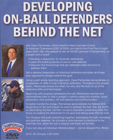 (Rental)-Developing On-Ball Defenders Behind the Net