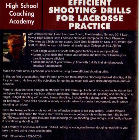 (Rental)-Efficient Shooting Drills for Lacrossse Practice