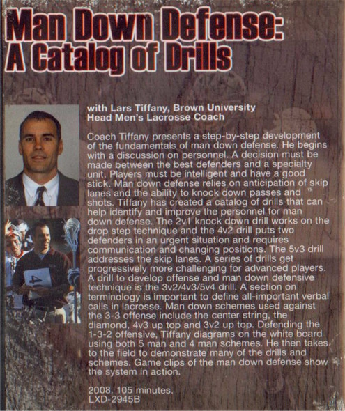 (Rental)-Man Down Defense: A Catalog of Drills