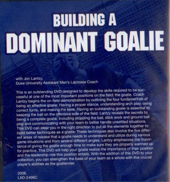 (Rental)-Building a Dominant Goalie