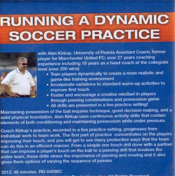 (Rental)-Running a Dynamic Soccer Practice