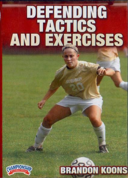 Defending Tactics & Exercises by Brandon Koons Instructional Soccerl Coaching Video