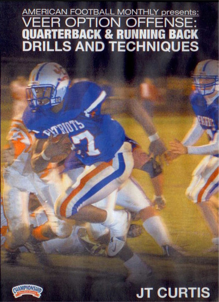 VEER OPTION OFFENSE: QUARTERBACK & RUNNING BACK by American Football Monthly Instructional Basketball Coaching Video