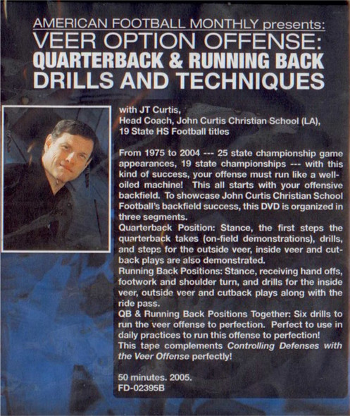 (Rental)-VEER OPTION OFFENSE: QUARTERBACK & RUNNING BACK