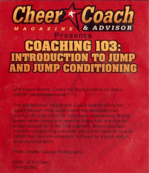 (Rental)-Cheer  Coach Magazine: Coaching 103: Jump & Jump Conditioning