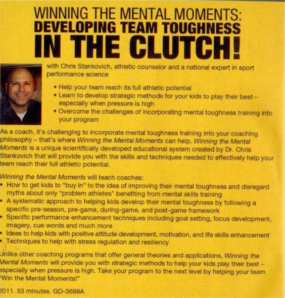 (Rental)-Winning The Mental Moments: Developing Team Toughness In The Clutch!