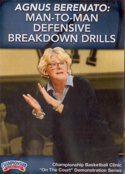 Man To Man Defensive Breakdown Drills by Agnus Berenato Instructional Basketball Coaching Video