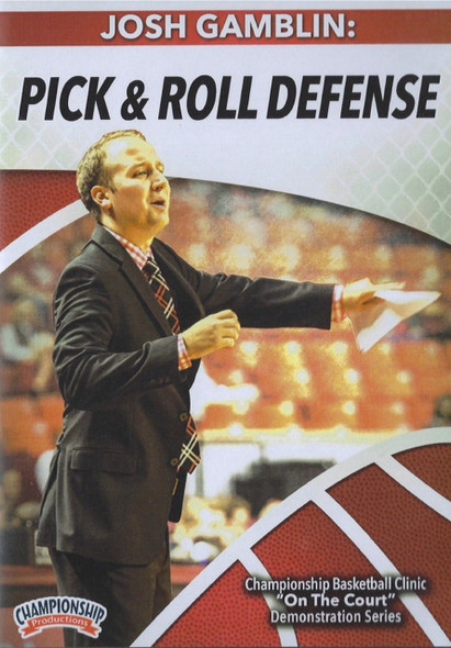 Pick & Roll Defense by Josh Gamblin Instructional Basketball Coaching Video