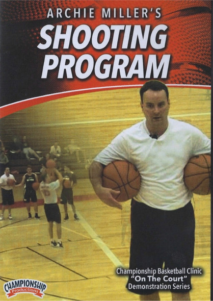 Archie Miller's Shooting Program by Archie Miller Instructional Basketball Coaching Video