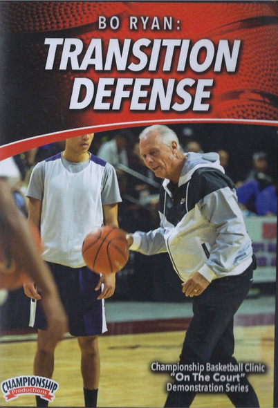 Bo Ryan: Transition Defense by Bo Ryan Instructional Basketball Coaching Video