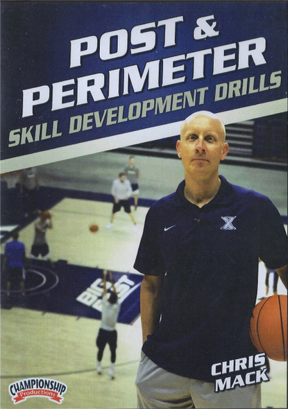 Post & Perimeter Skill Development Drills by Chris Mack Instructional Basketball Coaching Video