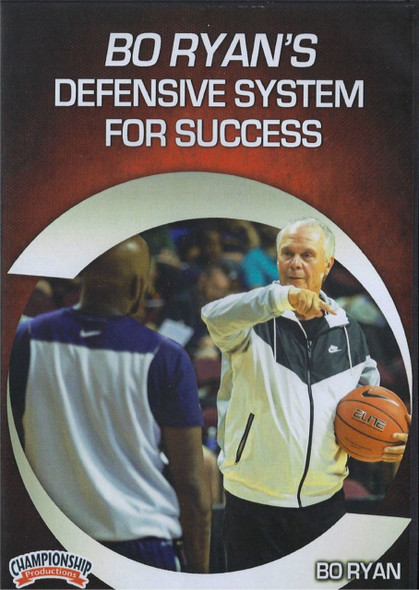 Bo Ryan's Defensive System For Success by Bo Ryan Instructional Basketball Coaching Video