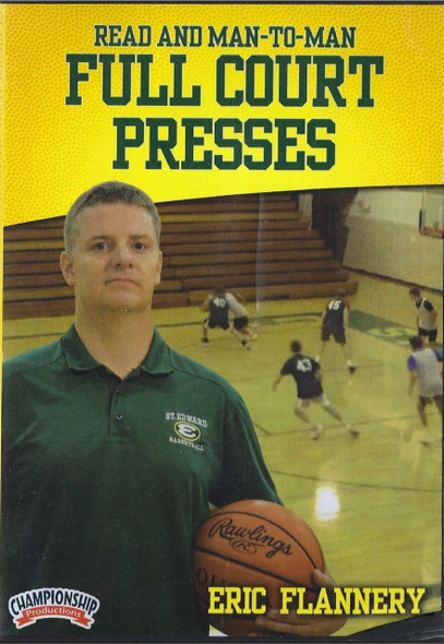 Read & Man To Man Full Court Press by Eric Flannery Instructional Basketball Coaching Video