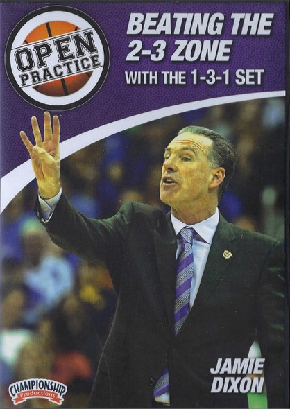 Beating The 2-3 Zone With The 1-3-1 Set by Jamie Dixon Instructional Basketball Coaching Video