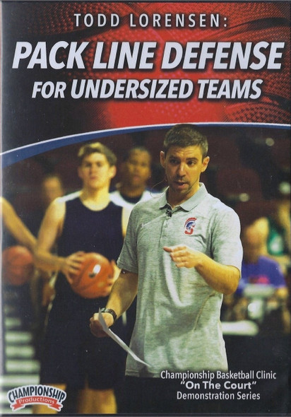 Pack Line Defense For Undersized Teams by Todd Lorensen Instructional Basketball Coaching Video