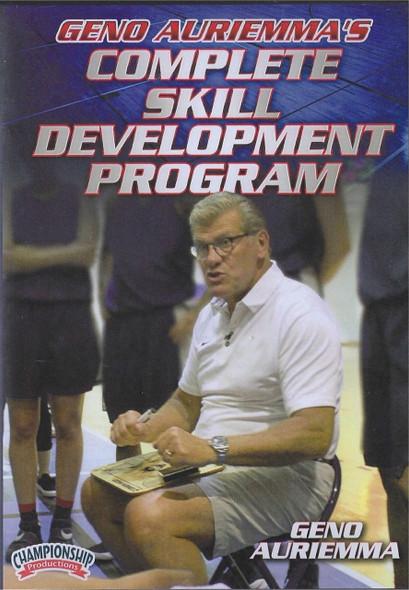 Geno Auriemma's Complete Skill Development Program by Geno Auriemma Instructional Basketball Coaching Video