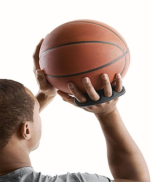 Hot Shot Basketball Shooting Aid finger spacer
