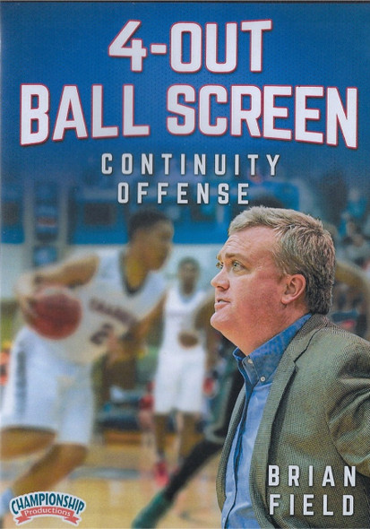 4 Out Ball Screen Continuity Offense by Brian Field Instructional Basketball Coaching Video