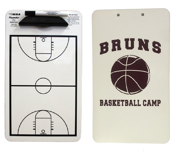 Custom Basketball Clipboard