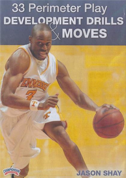 33 Perimeter Play Development Drills & Moves by Jason Shay Instructional Basketball Coaching Video